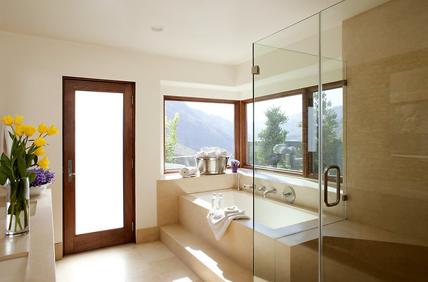 eastwestlocationsinc2150 Big T Master Bath 20 - Los Angeles Residence, Constructed by Landshapes